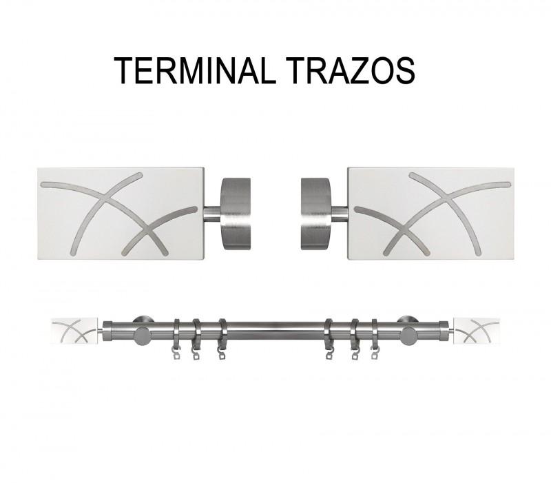 TERMINAL TRAZOS Ø19MM