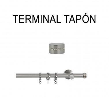 TERMINAL TAPÓN Ø19MM