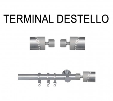 TERMINAL DESTELLO Ø19MM