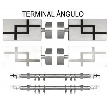 TERMINAL ÁNGULO Ø30MM