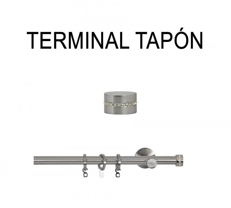 TERMINAL TAPÓN Ø30MM