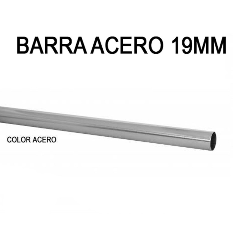 TUBO BARRA ACERO Ø19MM