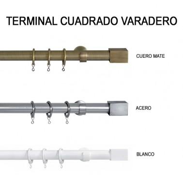 TERMINAL CUADRADO VARADERO Ø30MM