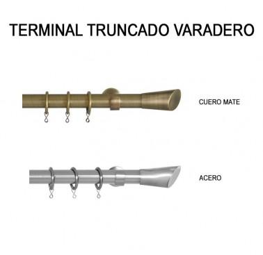 TERMINAL TRUNCADO VARADERO Ø30MM