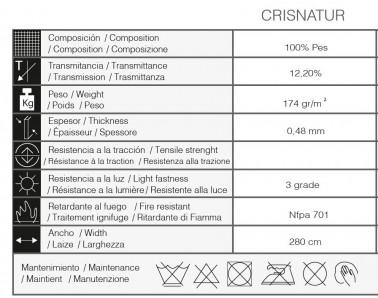 ESTOR ENROLLABLE NOCHE Y DÍA CRISNATUR 1- B