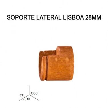 SOPORTE LATERAL LISBOA 28MM