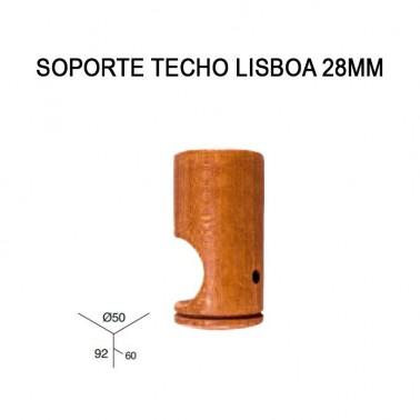 SOPORTE TECHO LISBOA 28MM