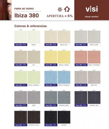 ESTOR ENROLLABLE SCREEN IBIZA 380 5% APERTURA